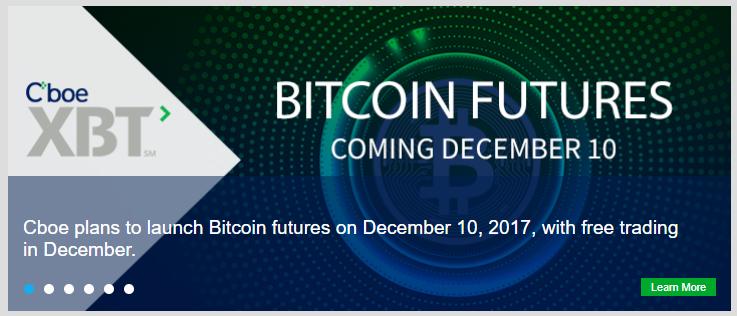 Cboe Bitcoin XBT