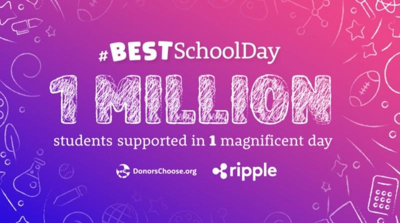 ripple scholen donatie