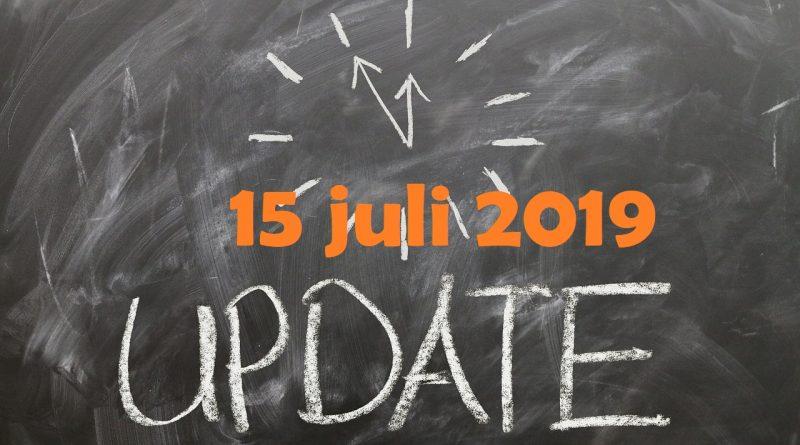 marktupdate 15 juli 2019