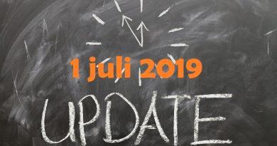 update 1 juli