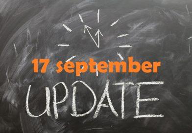 Marktupdate (17 september): Altcoins starten opmars