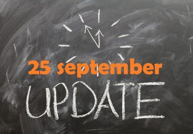 Marktupdate 25 september: cryptomarkt krijgt fikse knauw