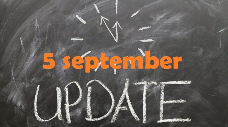 Marktupdate (5 september): BTC dominantie ver boven de 70%