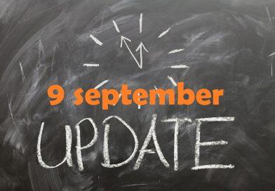 Marktupdate (9 september): terugval voor Bitcoin