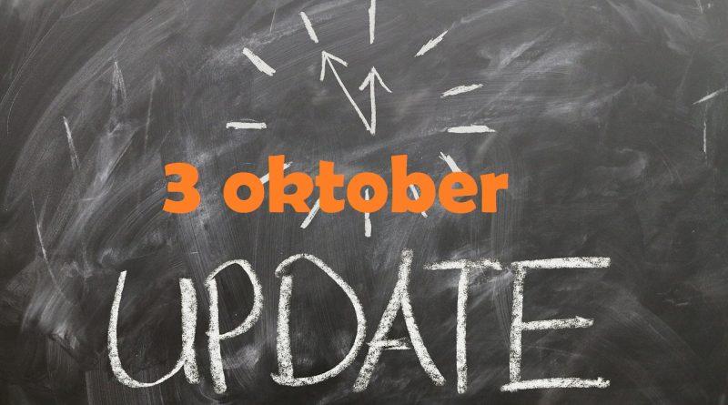 Marktupdate 3 oktober: waar gaan we naartoe?