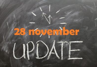 Marktupdate (28 november): De Weg Omhoog Ingezet?